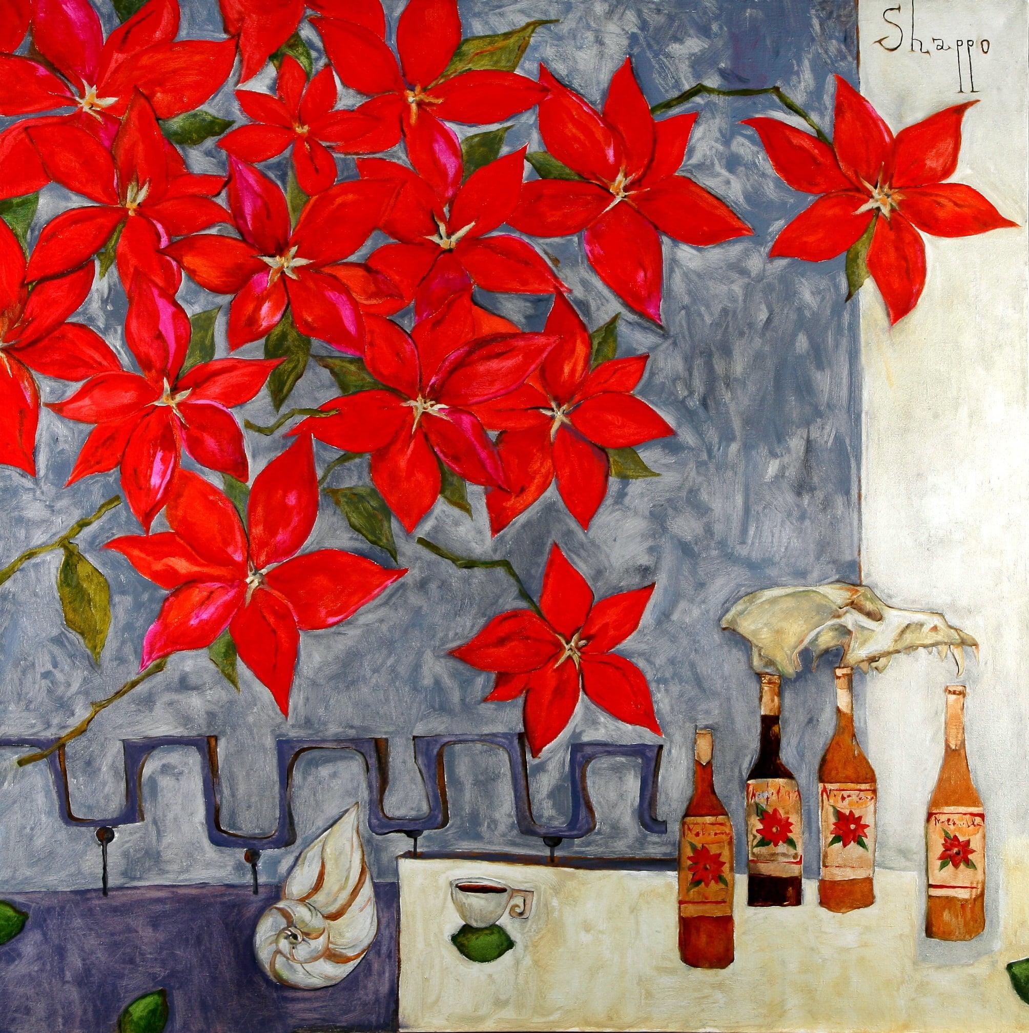 NOCHE BUENE. canvas. oil. 160Х160 cm.