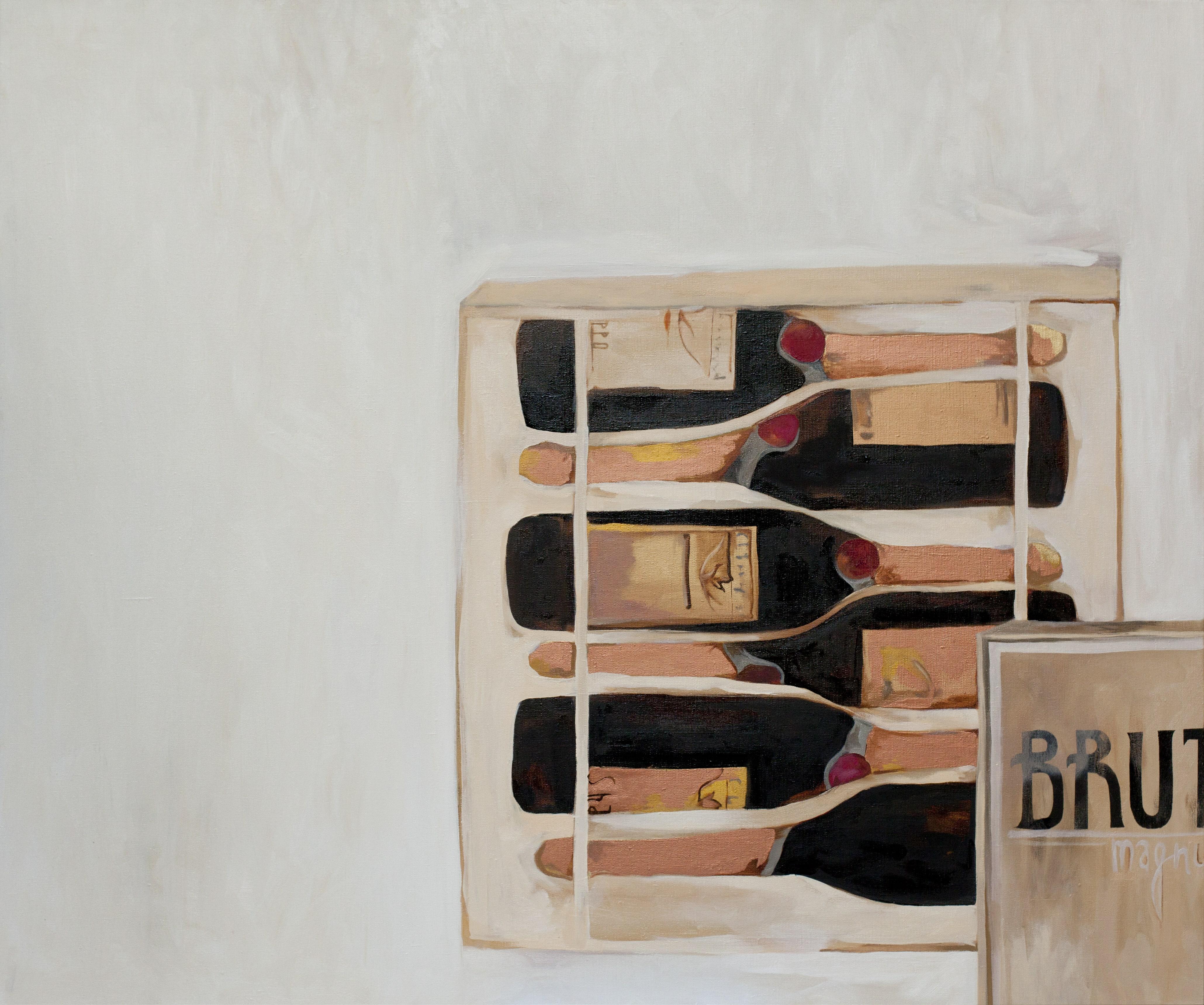 BRUT MAGNUM. canvas. oil. 100X120 cm.