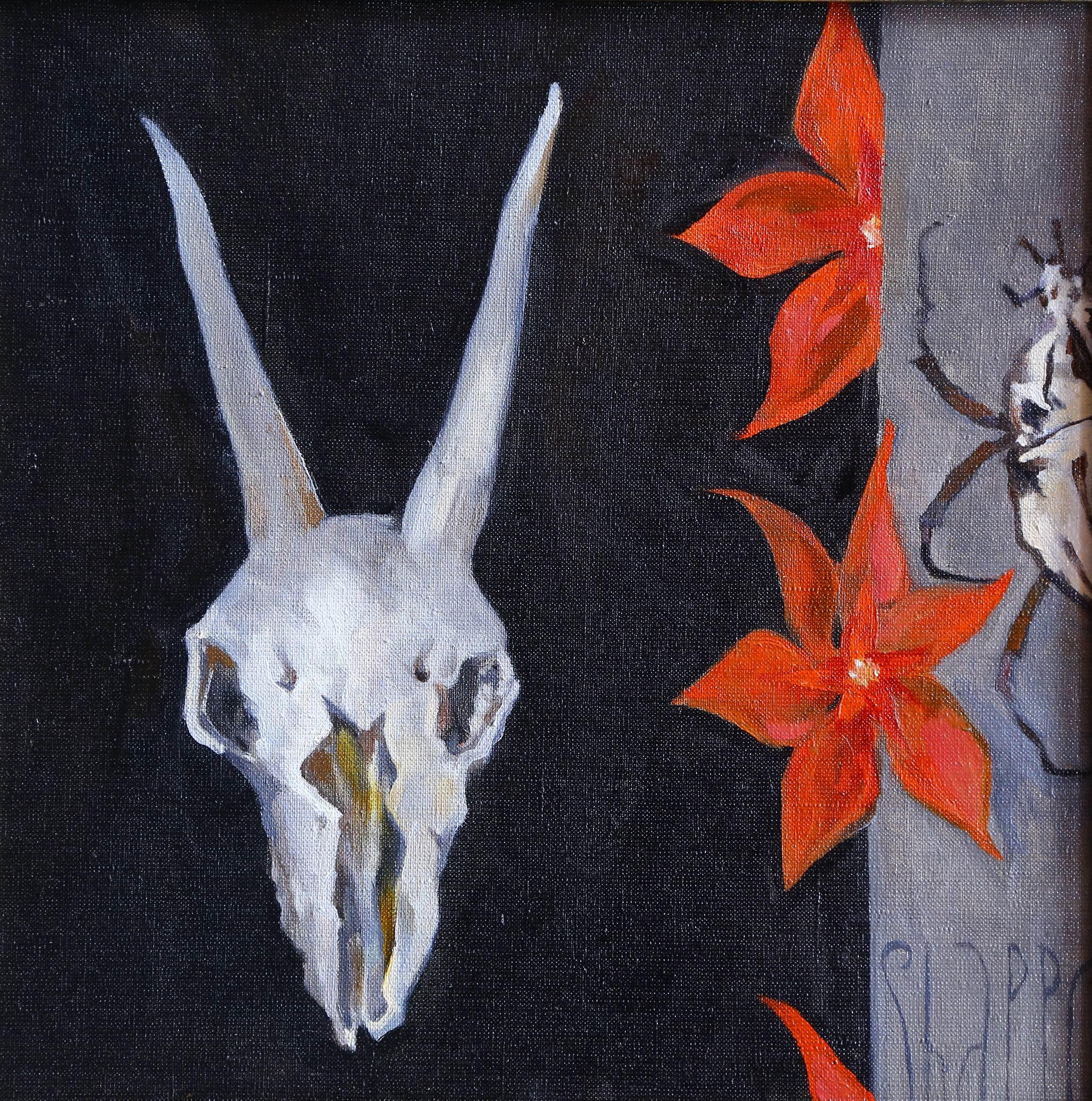 NOCHE. canvas. oil. 40X40 cm.